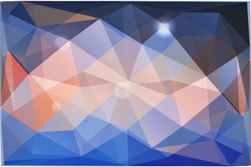 Fondo abstracto de triángulos imágenes de archivo libres de regalías