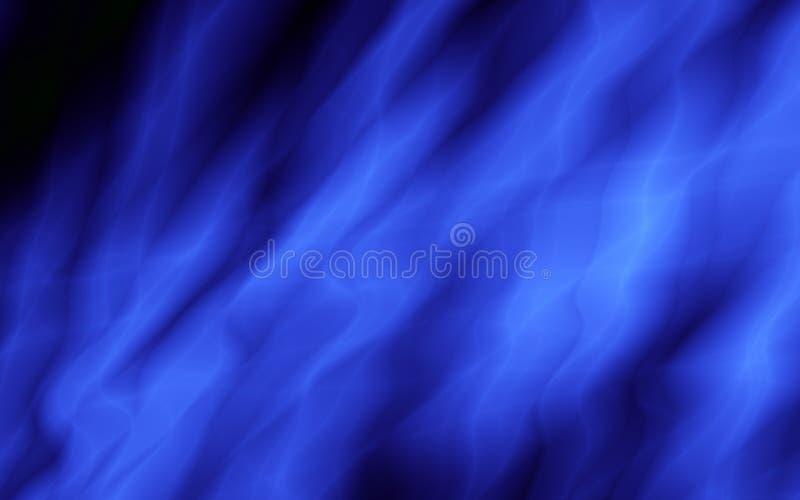 Fondo abstracto del agua azul marino del flujo libre illustration