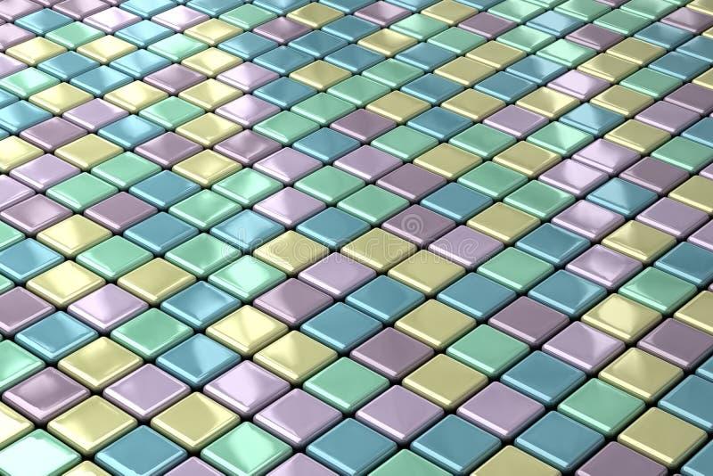 Fondo abstracto del azulejo libre illustration