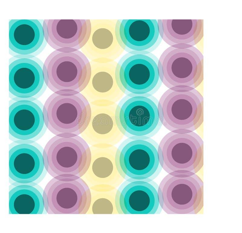 Fondo abstracto del círculo de la pendiente libre illustration