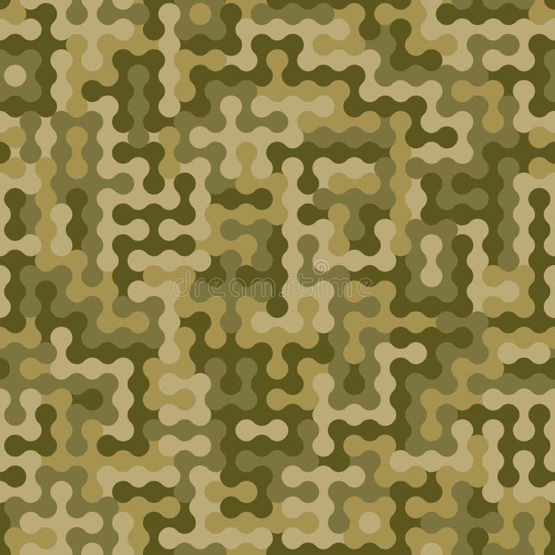 Fondo abstracto del camuflaje de los militares o de la caza Modelo incons?til libre illustration