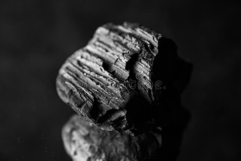 Fondo abstracto del carbón de leña imagenes de archivo