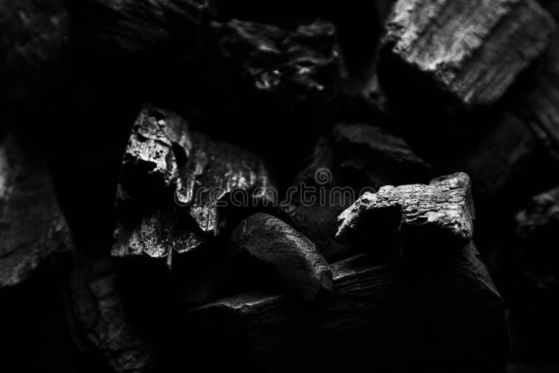 Fondo abstracto del carbón de leña fotos de archivo