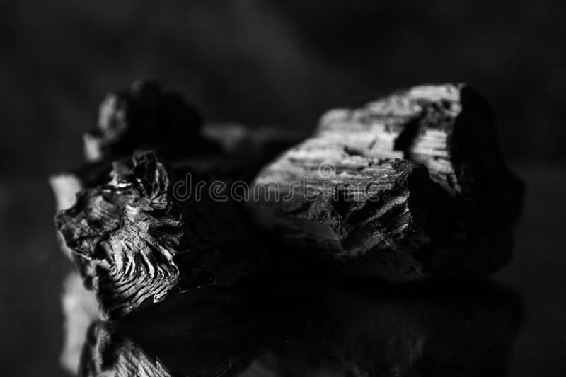 Fondo abstracto del carbón de leña foto de archivo libre de regalías