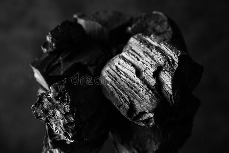Fondo abstracto del carbón de leña imagen de archivo
