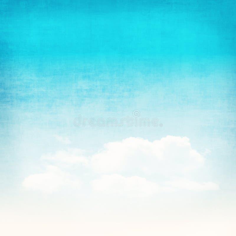 Fondo abstracto del cielo del Grunge imagen de archivo libre de regalías