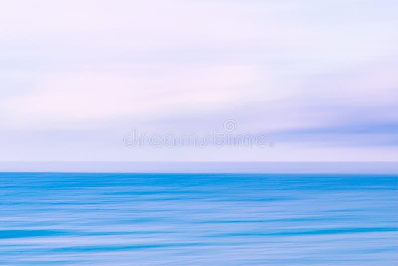Fondo abstracto del cielo y de la naturaleza del océano fotografía de archivo libre de regalías
