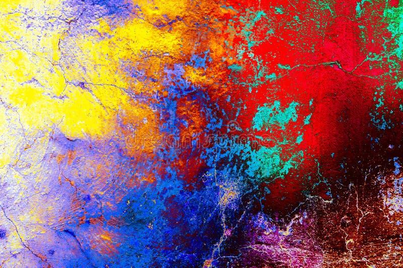 Fondo abstracto del color fotografía de archivo