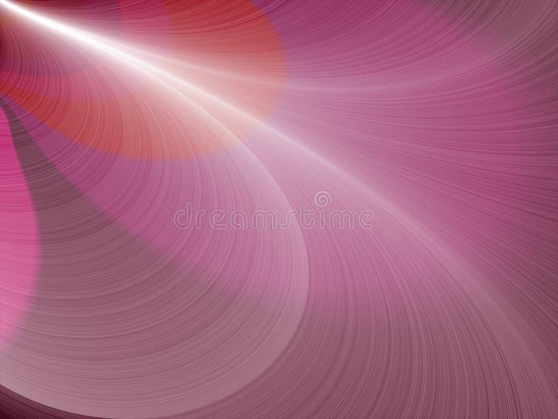 Fondo abstracto del color de rosa del fractal libre illustration