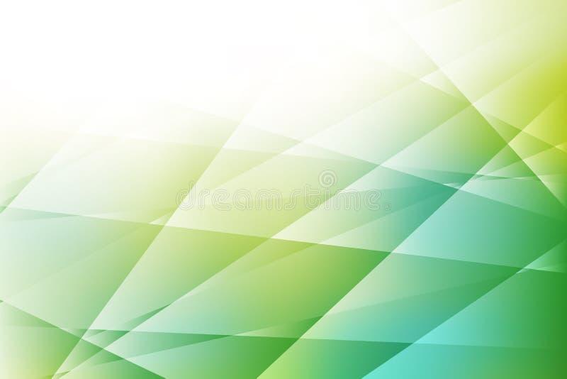 Fondo abstracto del color verde de las texturas stock de ilustración