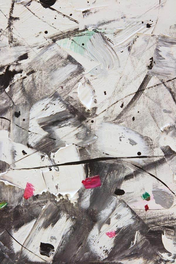 Fondo abstracto del detalle de la pintura stock de ilustración