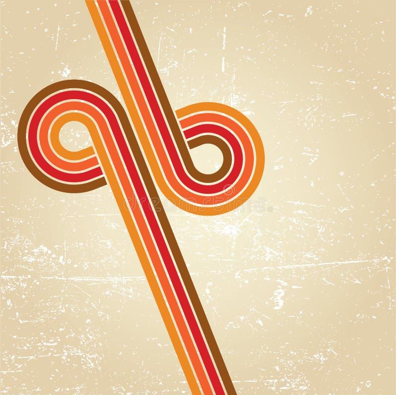 Fondo abstracto del disco. ilustración del vector