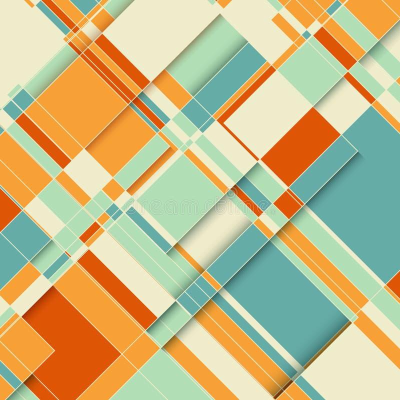Fondo abstracto del diseño ilustración del vector