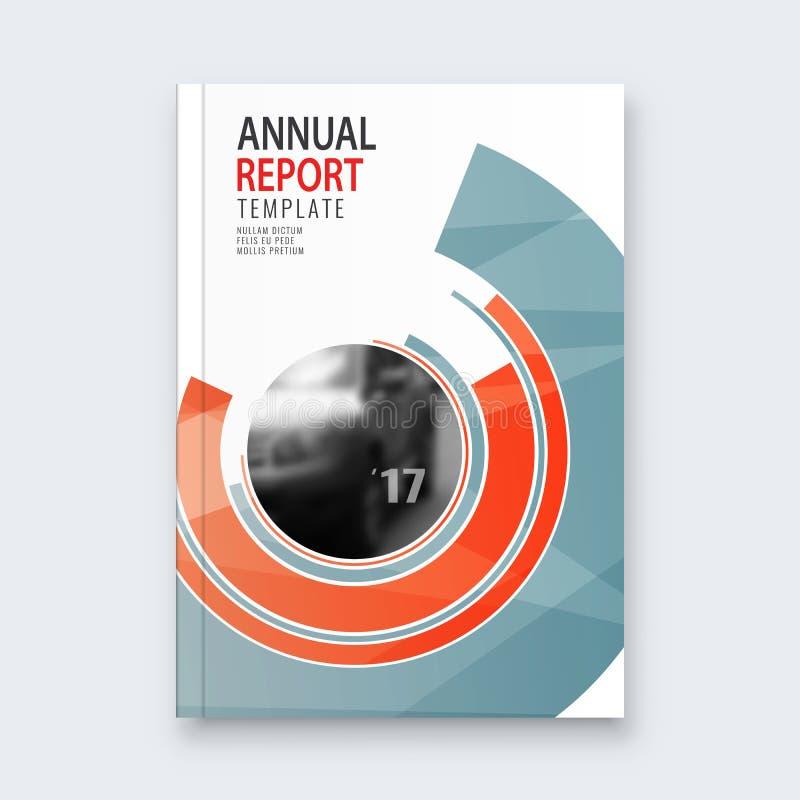 Fondo abstracto del diseño del aviador plantilla del folleto libre illustration