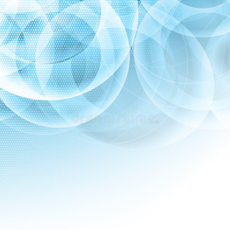 Fondo abstracto del diseño con los puntos de semitono ilustración del vector
