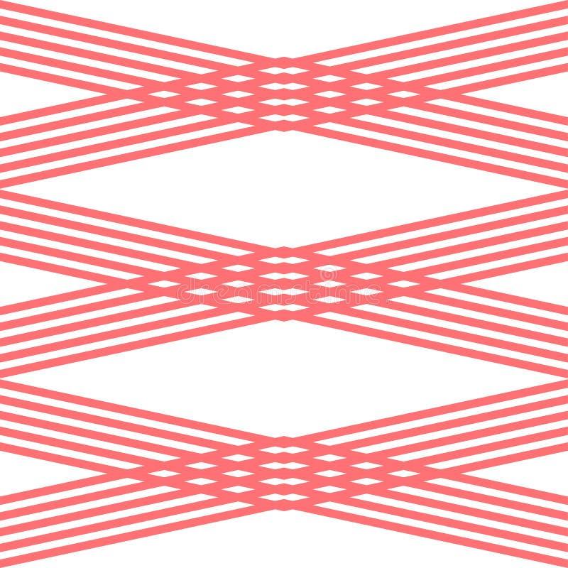Fondo abstracto del diseño de la forma de la tira x libre illustration