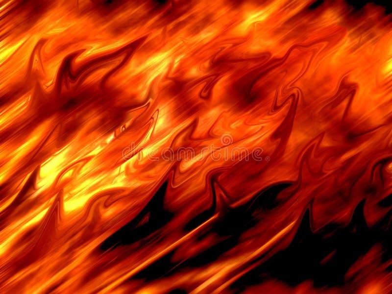 Fondo abstracto del ejemplo del fuego libre illustration