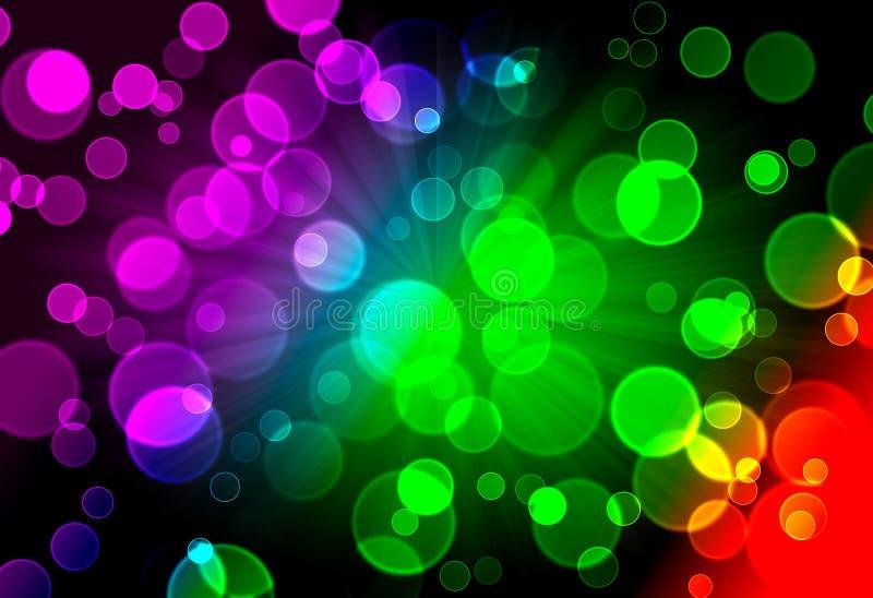 Fondo abstracto del espectro imagen de archivo libre de regalías