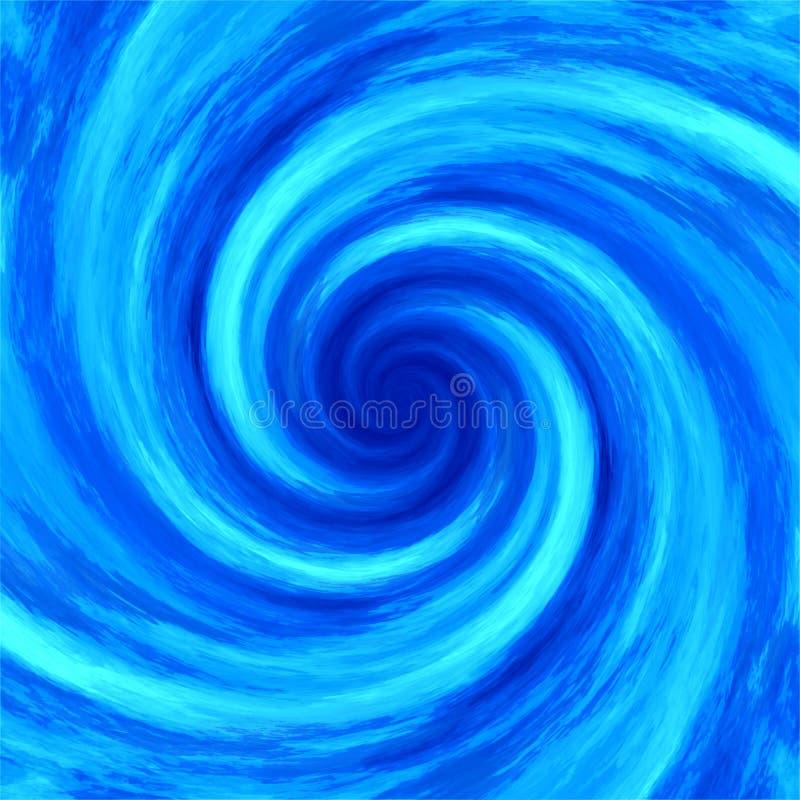 Fondo abstracto del espiral del torbellino del remolino del agua imagenes de archivo