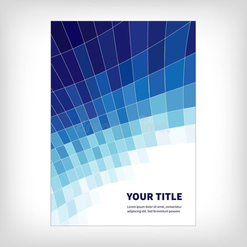Fondo abstracto del folleto de la dinámica stock de ilustración