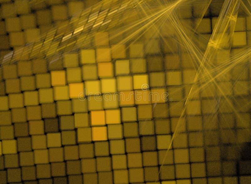 Fondo abstracto del fractal imagen de archivo