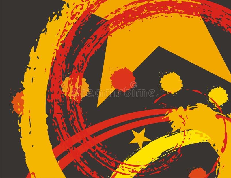 Fondo abstracto del grunge libre illustration