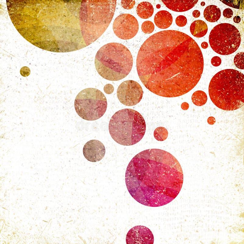 Fondo abstracto del Grunge ilustración del vector