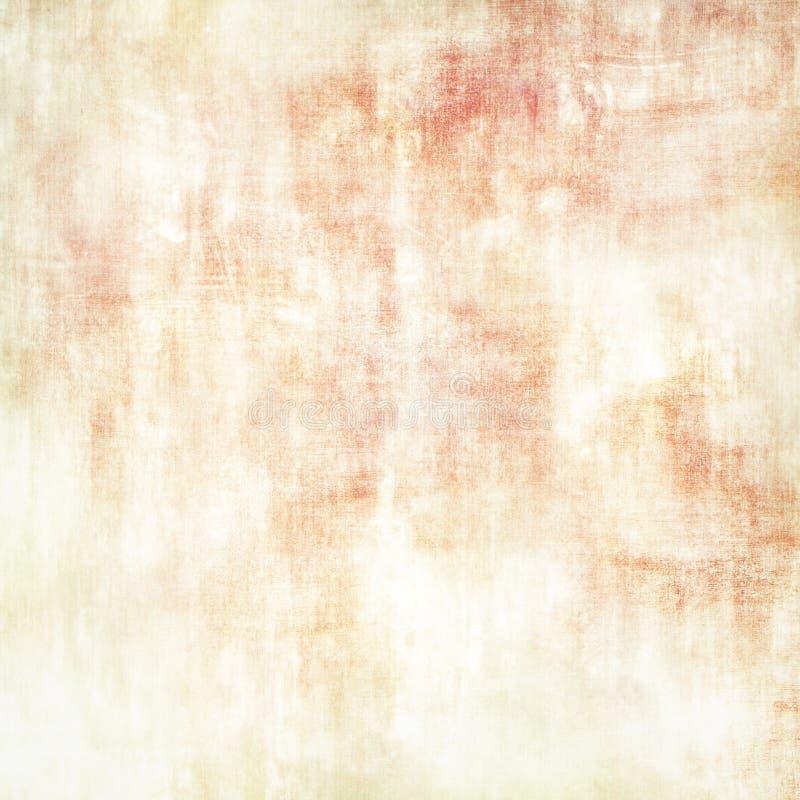Fondo abstracto del grunge, vintage, retro, lona, papel, beige, rosado, rojo, anaranjado, en blanco, texturizado, para el texto,  ilustración del vector