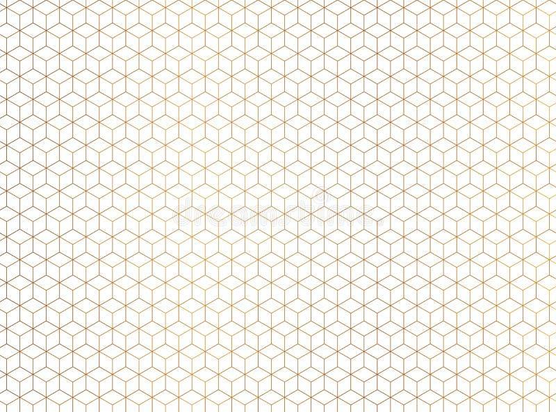 Fondo abstracto del hexágono Tecnología design-2 poligonal stock de ilustración