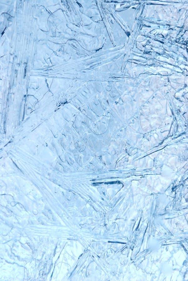 Fondo abstracto del hielo imagen de archivo