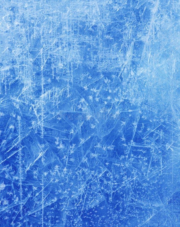 Fondo abstracto del invierno de la textura del hielo de la Navidad foto de archivo libre de regalías