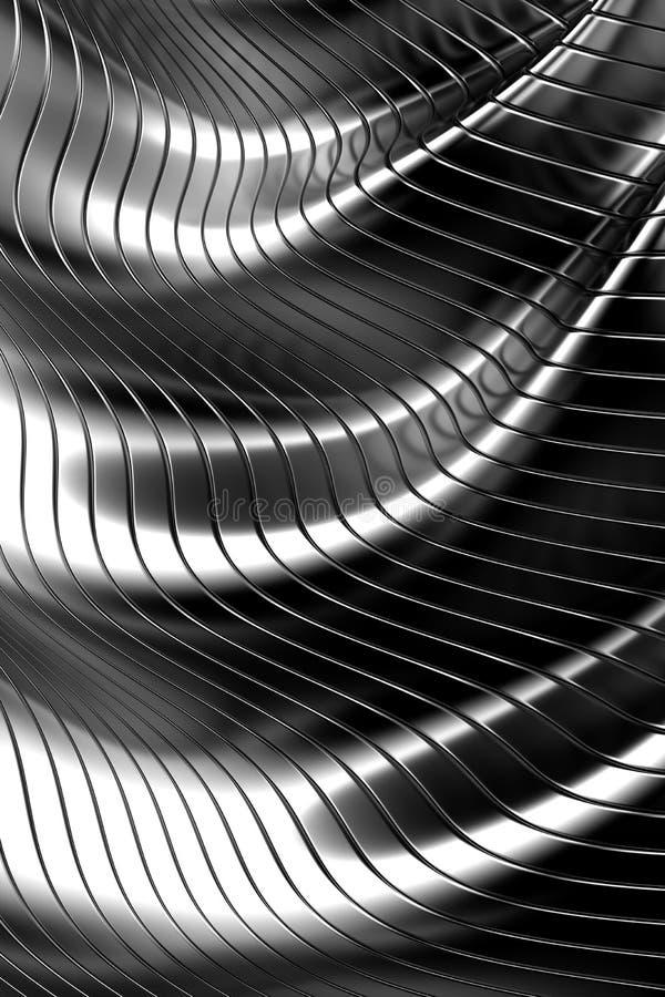 Fondo abstracto del metal stock de ilustración
