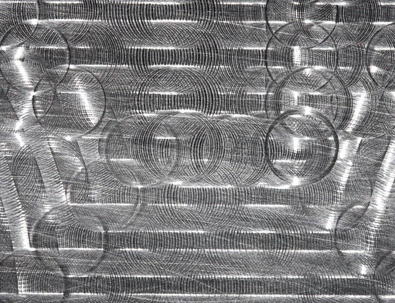 Fondo abstracto del metal fotografía de archivo