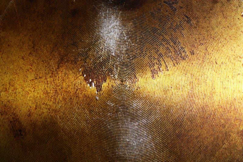 Fondo abstracto del metal con los c?rculos foto de archivo