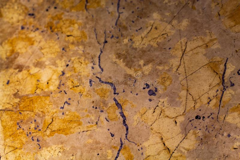 Fondo abstracto del metal de la textura natural de la pirita imágenes de archivo libres de regalías