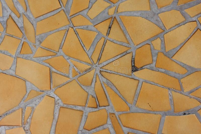 Fondo abstracto del modelo de las pequeñas tejas multicoloras fotografía de archivo