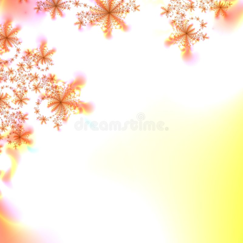 Fondo abstracto del modelo del otoño libre illustration