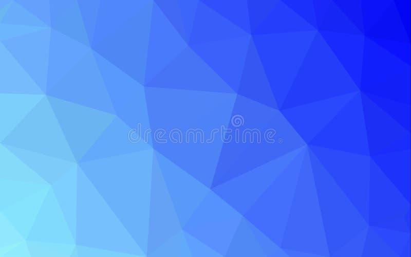 Fondo abstracto del modelo del polígono stock de ilustración