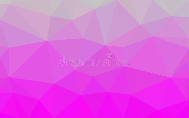 Fondo abstracto del modelo del polígono ilustración del vector