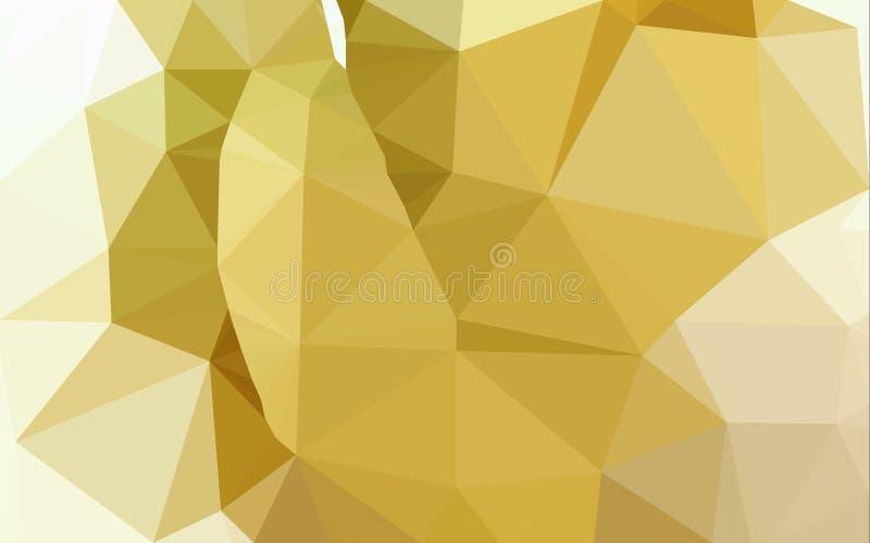 Fondo abstracto del modelo del polígono libre illustration