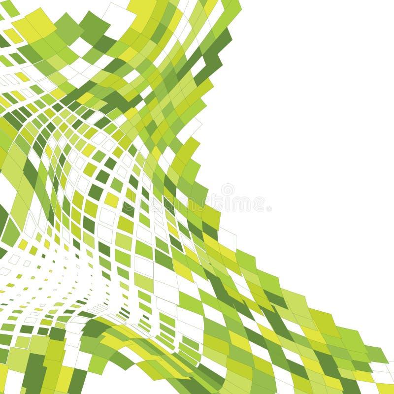 Fondo abstracto del mosaico libre illustration