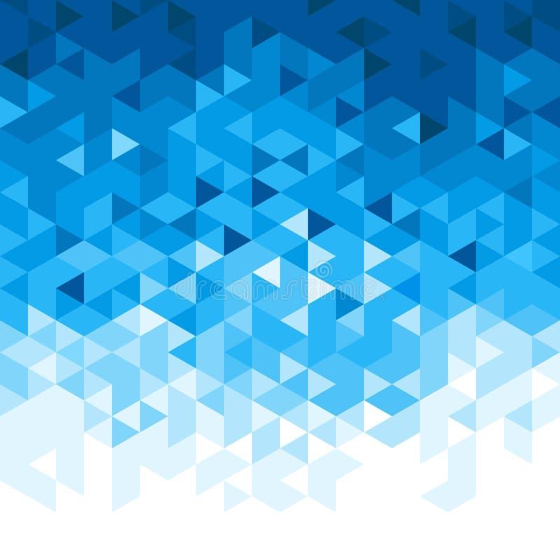 Fondo abstracto del mosaico ilustración del vector