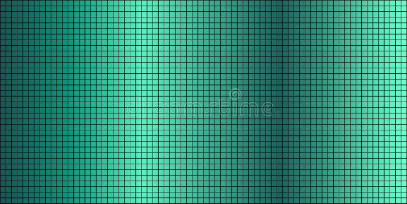 Fondo abstracto del mosaico de la turquesa brillante ilustración del vector
