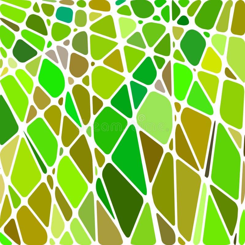 Fondo abstracto del mosaico del cristal de colores ilustración del vector