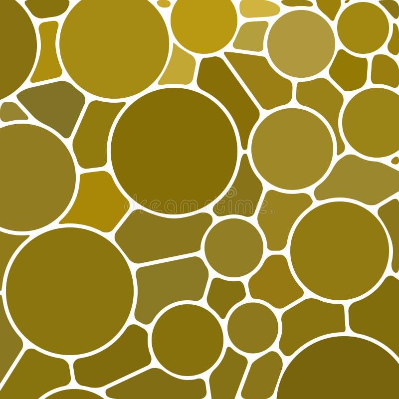 Fondo abstracto del mosaico del cristal de colores libre illustration