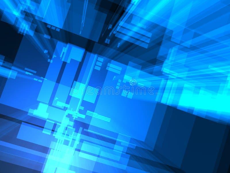 Fondo abstracto del ordenador libre illustration