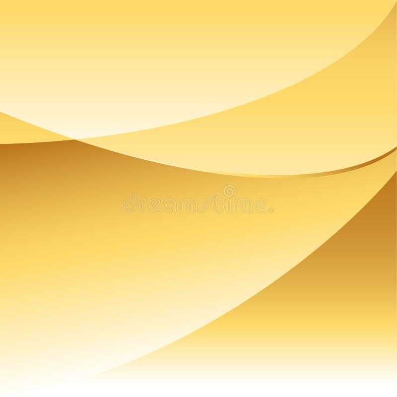 Fondo abstracto del oro libre illustration