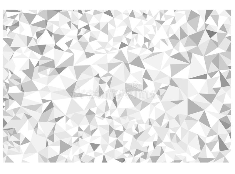 Fondo abstracto del polígono libre illustration