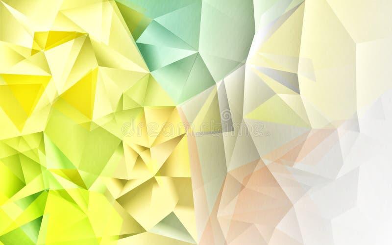Fondo abstracto del polígono imagenes de archivo