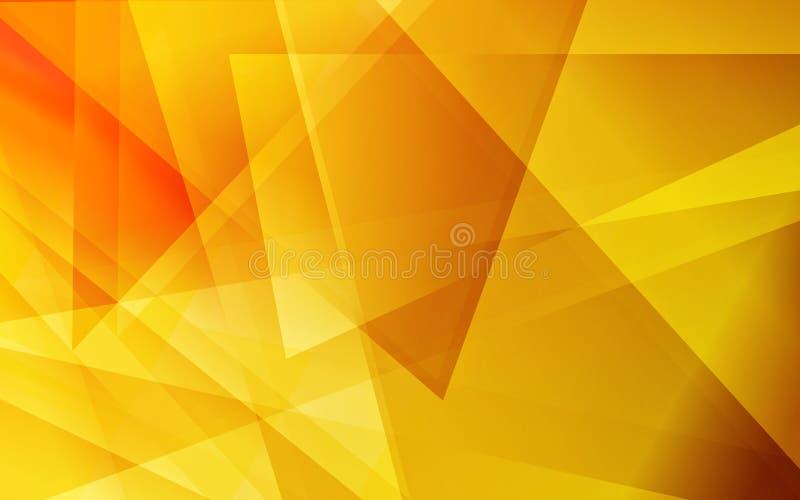 Fondo abstracto del polígono ilustración del vector